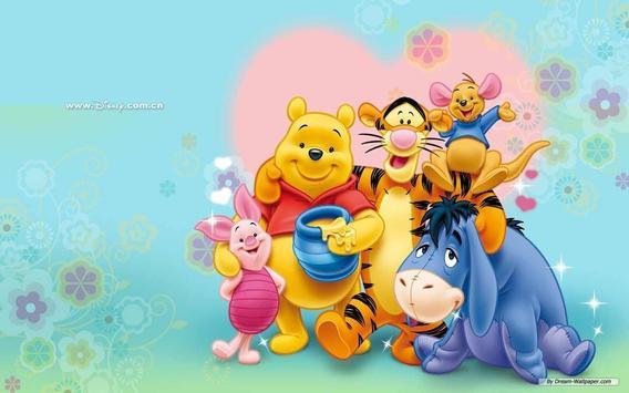 Winnie the Pooh Wallpaper HD screenshot 2