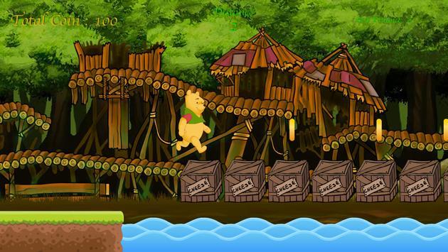 Winie Forest Adventure The Pooh apk screenshot