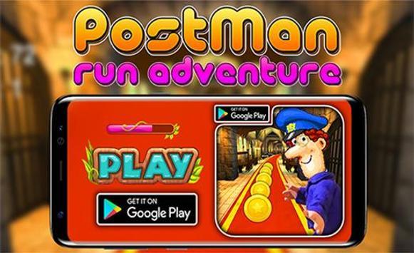 Pat The Postman rush poster