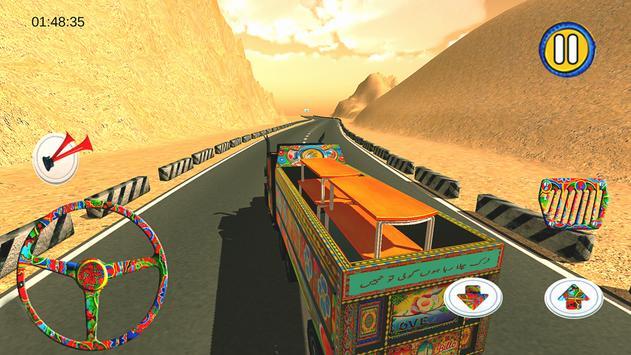 PK Cargo Truck Driving apk screenshot