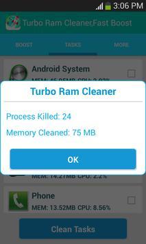 Fastest Ram Booster,cleaner screenshot 4