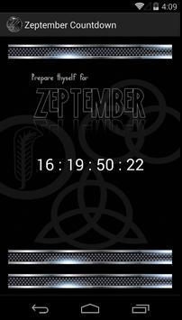 Zeptember Countdown poster