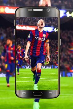 Iniesta Wallpapers 4K HD New screenshot 3