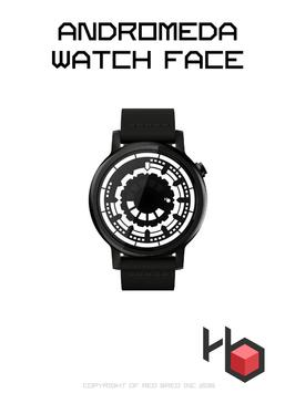 Andromeda Watch Face poster