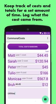 Communal Costs poster