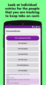 Communal Costs apk screenshot