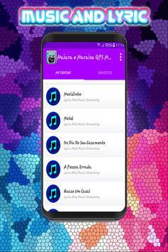 Maiara e Maraisa - Top Musica e Letras GPS 2018 screenshot 2