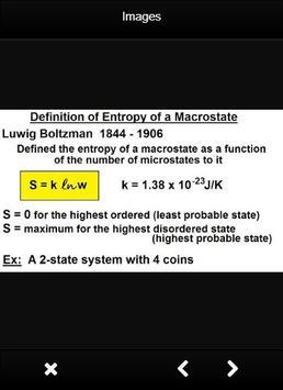 Thermodynamics Formulas Chemistry screenshot 1