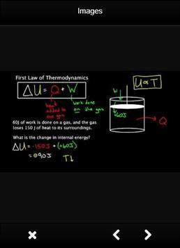 Thermodynamics Formulas Chemistry screenshot 2