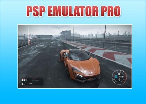 Emulator Psp Pro 2018 apk screenshot