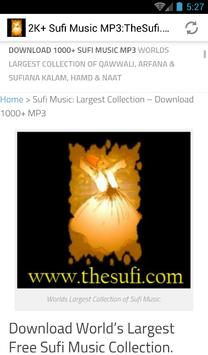 5000 Sufi Music MP3: TheSufi.com poster