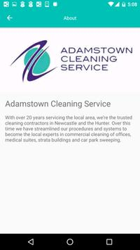 Adamstown Cleaning Services apk screenshot