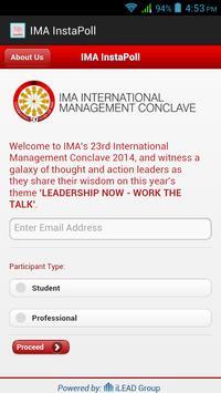 IMA InstaPoll screenshot 1