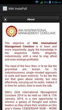 IMA InstaPoll screenshot 2