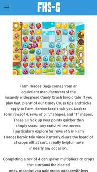 Guide For Farm Heroes Saga poster