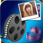 convert photo to video free icon