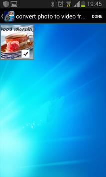 convert photo to video free apk screenshot
