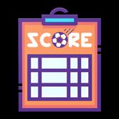 TheScoreKeeper - Football Live icon