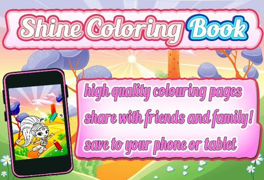 Shine Coloring Book Poster Apk