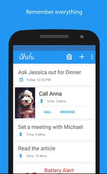 Shifu:Smart To Do List Manager poster