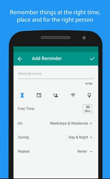 Shifu:Smart To Do List Manager apk screenshot