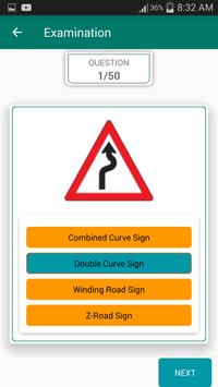 Philippine Traffic and Road Signs Tutorial apk screenshot