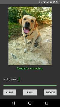 StegApp screenshot 2