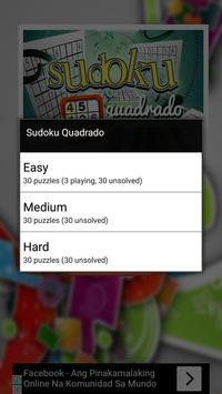 Sudoku Quadrado apk screenshot