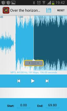 best mp3 cutter free apk screenshot
