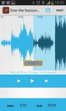 best mp3 cutter free screenshot 2