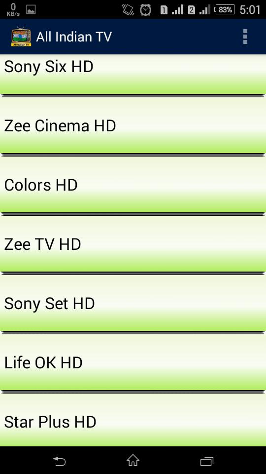 All Indian TV Channels for Android - APK Download