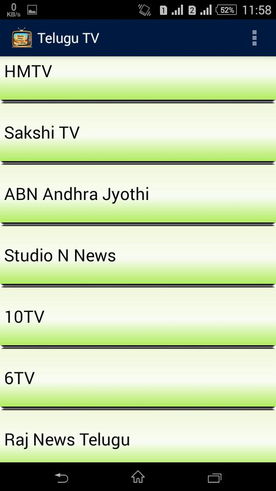 All Telugu TV Channels Live HD for Android - APK Download