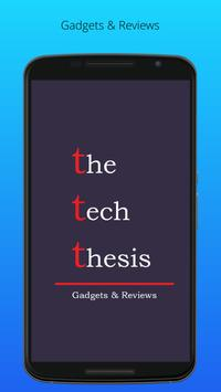 Tech Thesis poster