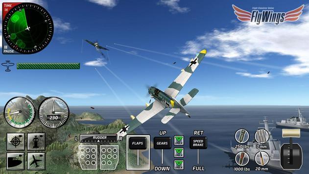 Sky Thunder Combat Fighters X apk screenshot