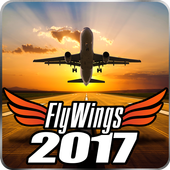 Flight Simulator 2017 FlyWings Free icon