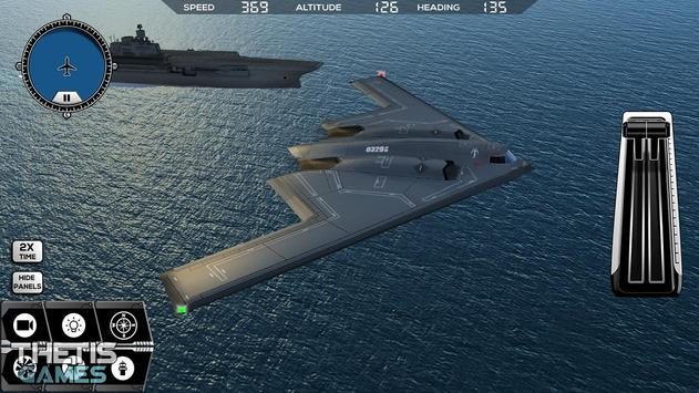 Flight Simulator 2017 FlyWings Free screenshot 15