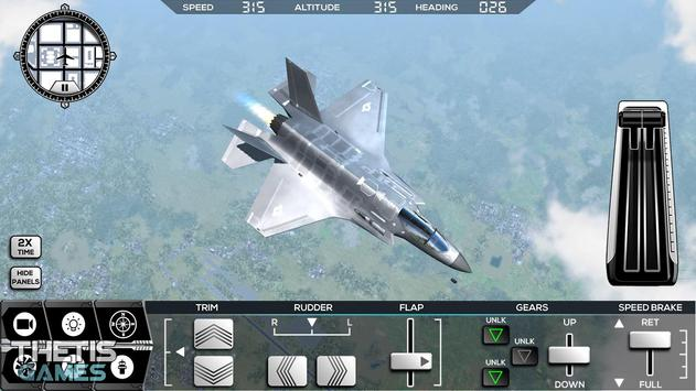 Flight Simulator 2017 FlyWings Free screenshot 20