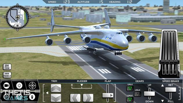 Flight Simulator 2017 FlyWings Free screenshot 22