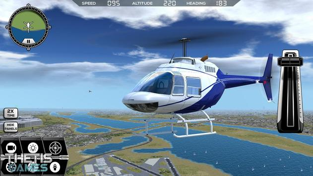Flight Simulator 2017 FlyWings Free screenshot 3