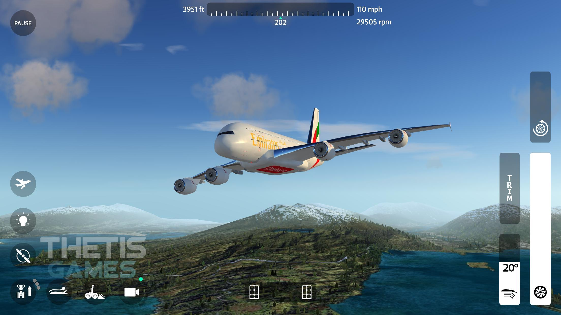Flight Simulator 2018 FlyWings Free for Android - APK Download