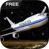 Flight Simulator Night NY Free icon