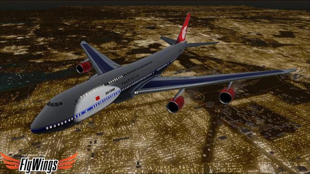 Flight Simulator Night NY Free screenshot 16