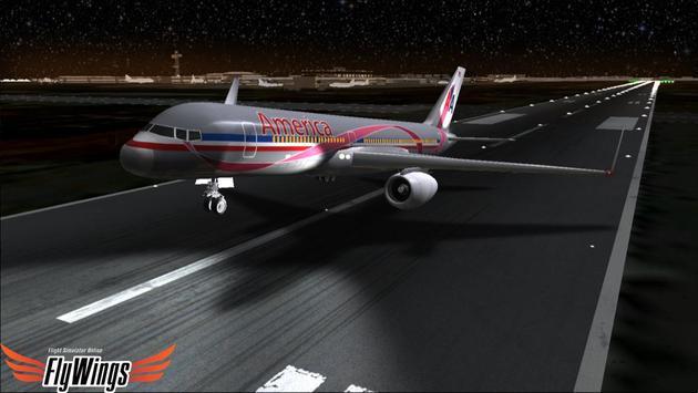 Flight Simulator Night NY Free screenshot 17