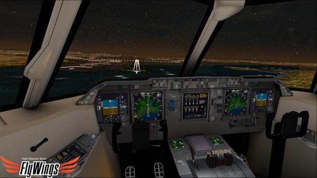 Flight Simulator Night NY Free screenshot 18