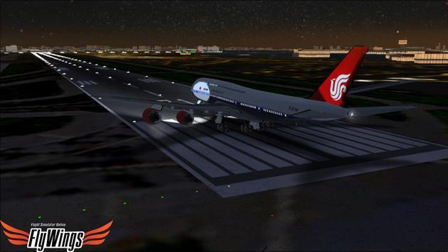 Flight Simulator Night NY Free screenshot 19