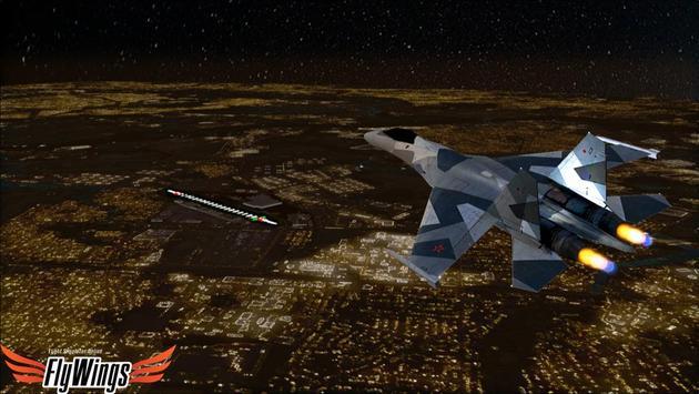 Flight Simulator Night NY Free screenshot 20