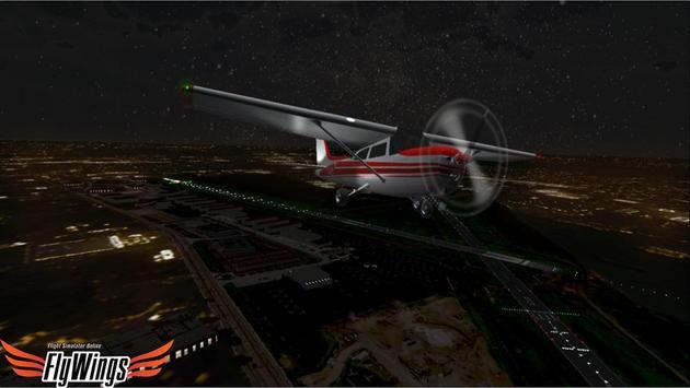 Flight Simulator Night NY Free screenshot 21