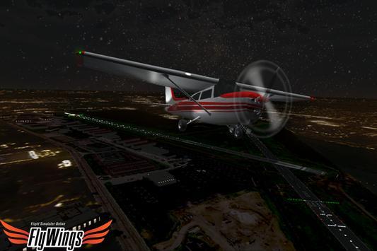 Flight Simulator Night NY Free screenshot 5