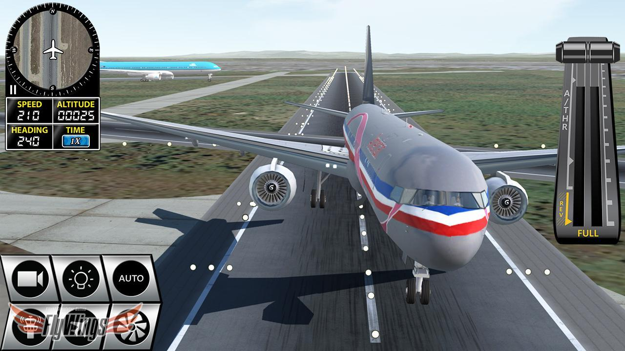 FlyWings Flight Simulator X 2016 Free for Android - APK Download