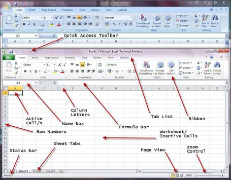Use Excel 2010 Reference dummy poster